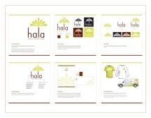 """Hala"" brand identity design"