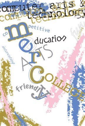"""""""Mercy College"""" poster"""