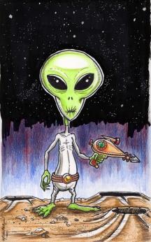 Alien - markers