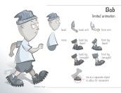 Bob, limited animation - digital