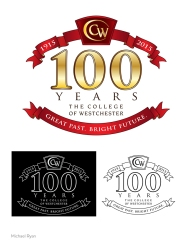 """CW 100 years"" client: The College of Westchester"