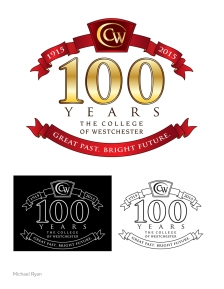 """""""CW 100 years"""" client: The College of Westchester"""