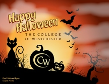 Happy Halloween - digital, client: The College of Westchester