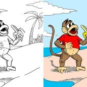 Monkey - digital