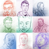 Sketches of my students