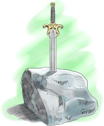 Sword in the Stone - digital