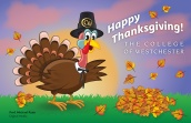 Thanksgiving - digital, client: The College of Westchester