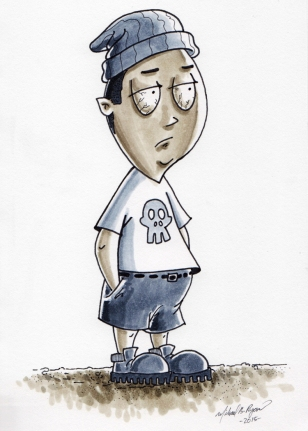 Character Illustration: Bob