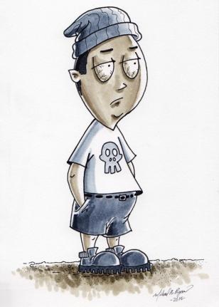 Character Illustration: Bob