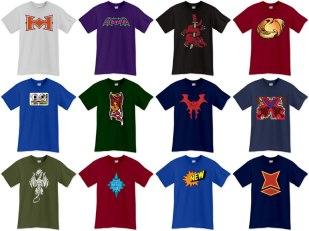 """He-Man"" t-shirts - client: He-Man.org"