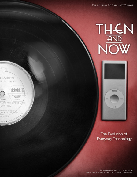 """""""Then & Now"""" poster"""