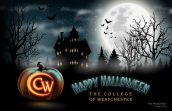 Happy Halloween – digital, client: The College of Westchester
