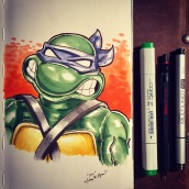 Donatello - markers