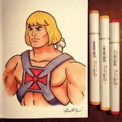 He-Man - markers