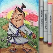 Samurai - markers