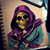 Skeletor - markers