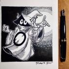 Pen & Ink: Orko