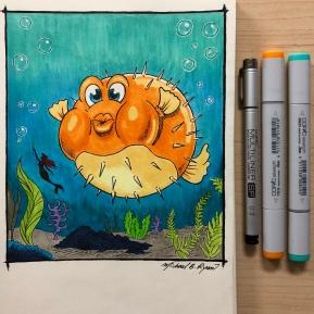 Illustration: Puffer Fish