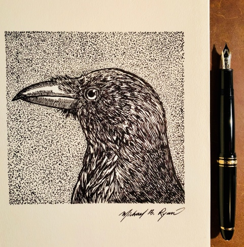 Pen & Ink: Crow