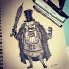 Character Illustration: The Penguin