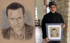 Portrait Drawing: actor Maurice Benard (General Hospital)