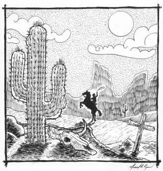 Pen & Ink: Wild West