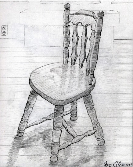 student work: chair