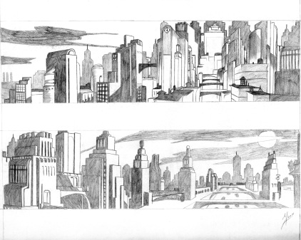 student work: cityscapes