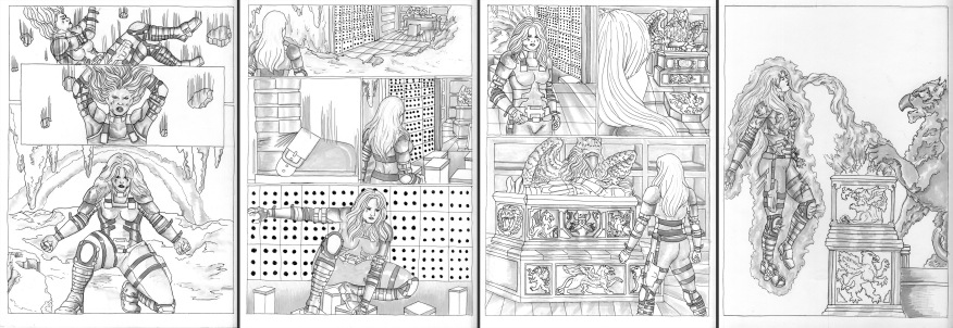 student work: sequential art