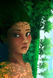 student work: digital illustration