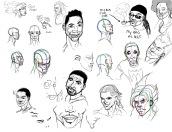 student work: expression studies