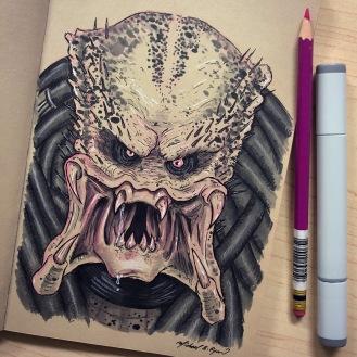 Predator - ink
